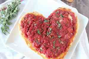 Heart Shaped Pizza Recipe