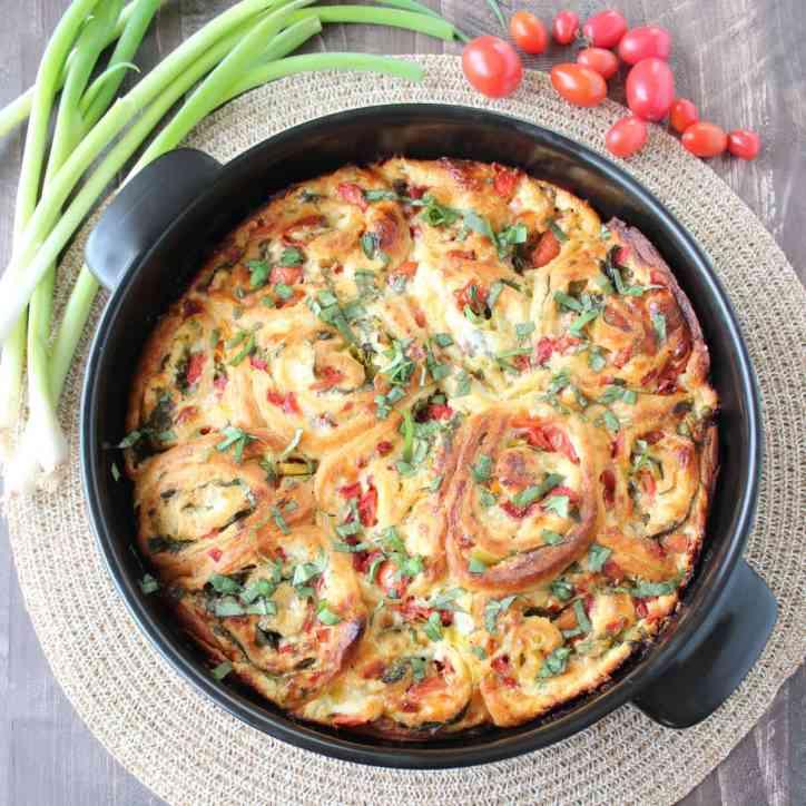 Veggie Pizza Rolls Recipe