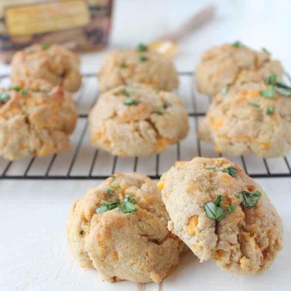 Gluten Free Garlic Cheddar Biscuits