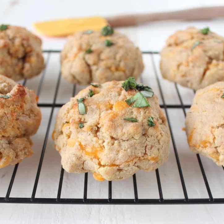 Garlic Cheddar Gluten Free Biscuits Recipe