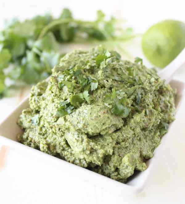 Vegan Cilantro Lime Pesto Recipe
