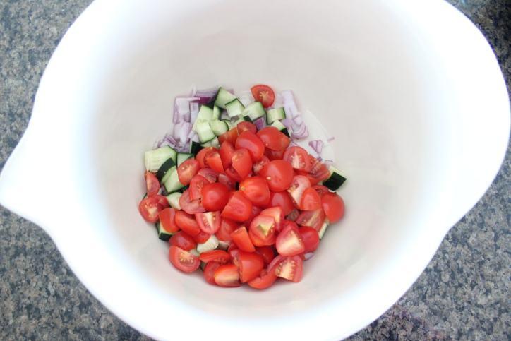 Cucumber Tomato Salsa Recipe
