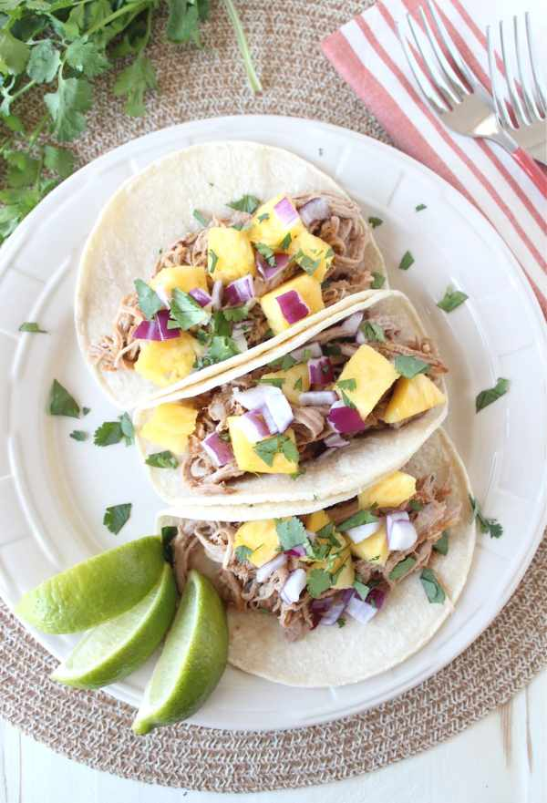 Slow Cooked Tacos Al Pastor Recipe