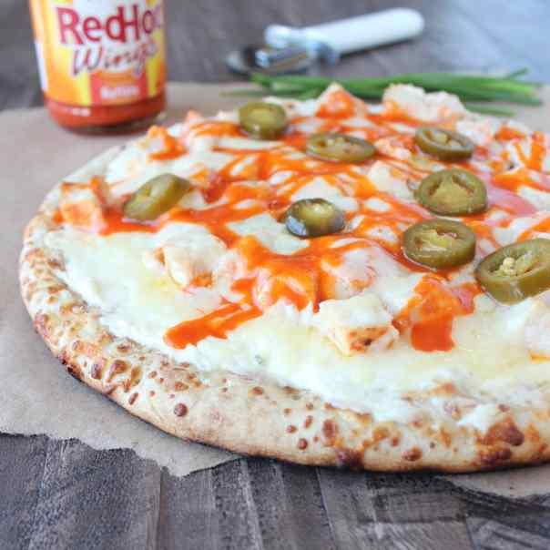 Buffalo Chicken Dip Pizza