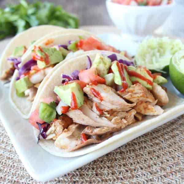 Grilled Mahi Mahi Fish Tacos