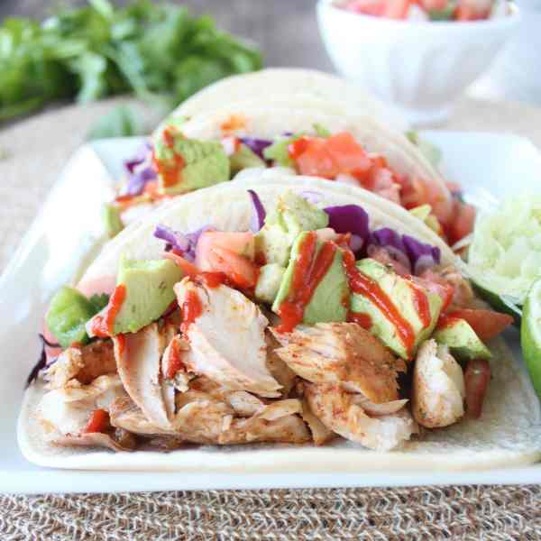 Cilantro Lime Jalapeño Mahi Mahi Fish Tacos