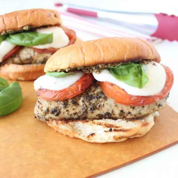 Caprese Grilled Chicken Sandwich Recipe