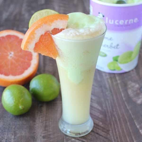 Sherbet Cocktail Float Recipe