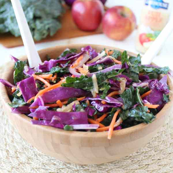 Kale Apple Slaw Recipe