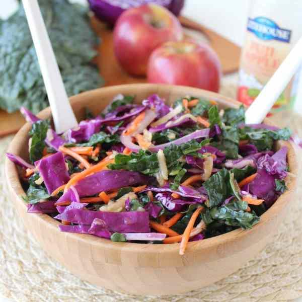 Gluten Free Kale Apple Slaw Recipe