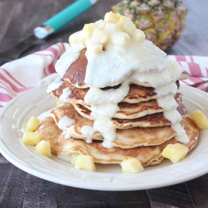 Pineapple Coconut Pancake Recipe
