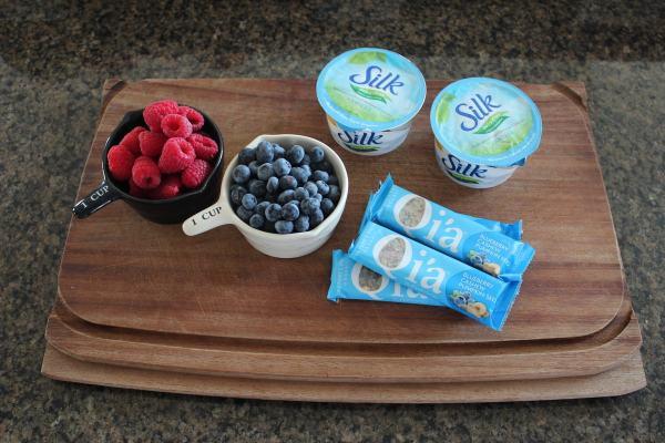 Superfood Fruit Parfait Ingredients