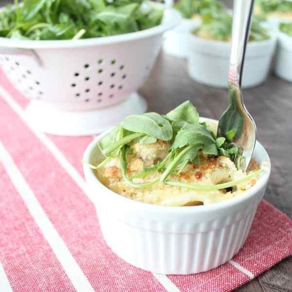 Chicken Caesar Baked Pasta Cup Recipe