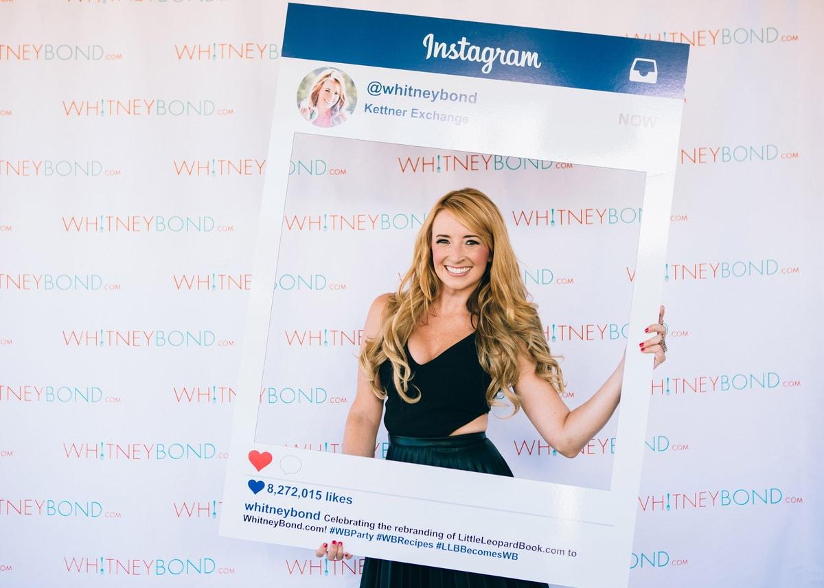 Whitney Bond With Instagram Photo Frame