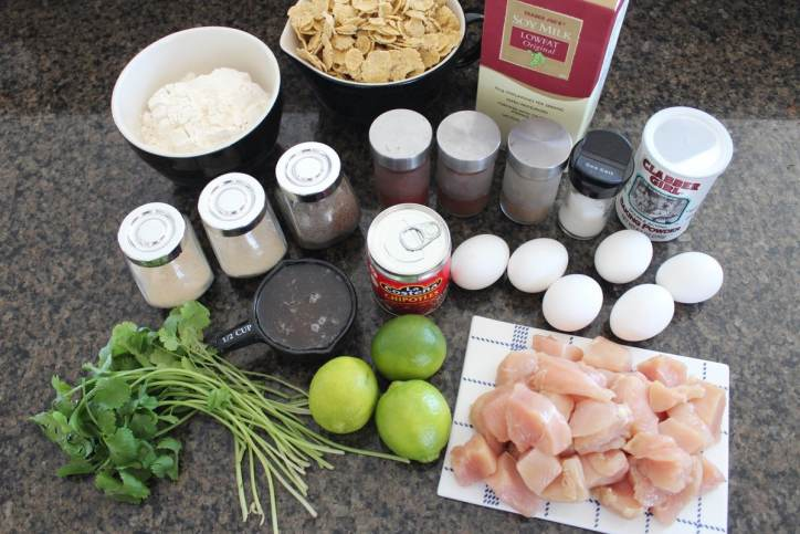 Chipotle Honey Baked Boneless Wings Recipe Ingredients