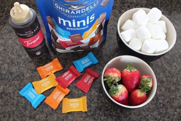 Chocolate Strawberry Skewer Recipe