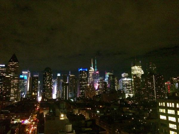 View from The Press Lounge Rooftop Bar NYC