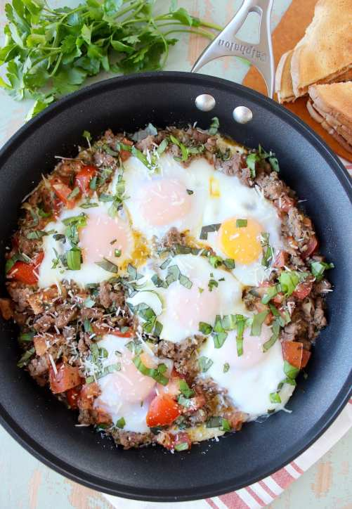 Italian Turkey Breakfast Skillet Recipe