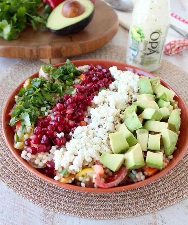 Couscous Avocado Salad Recipe