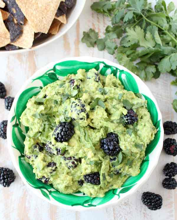 Blackberry Jalapeno Guacamole Recipe
