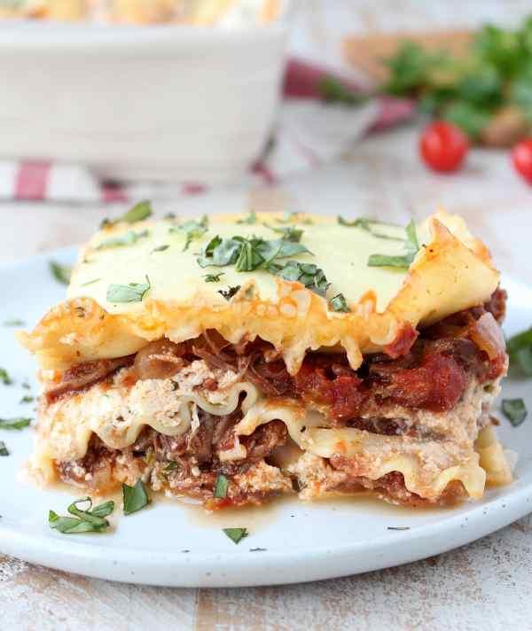 Beef Ragu Lasagna Recipe