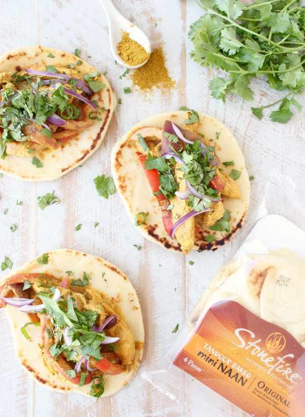Indian Curry Chicken Taco Recipe