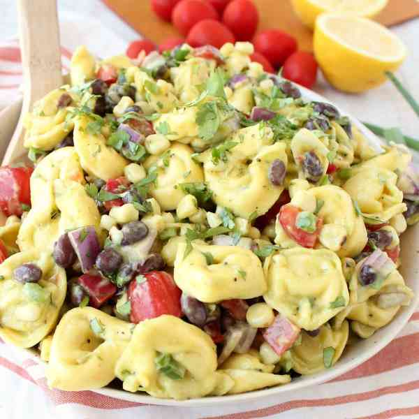 Mexican Tortellini Pasta Salad Recipe