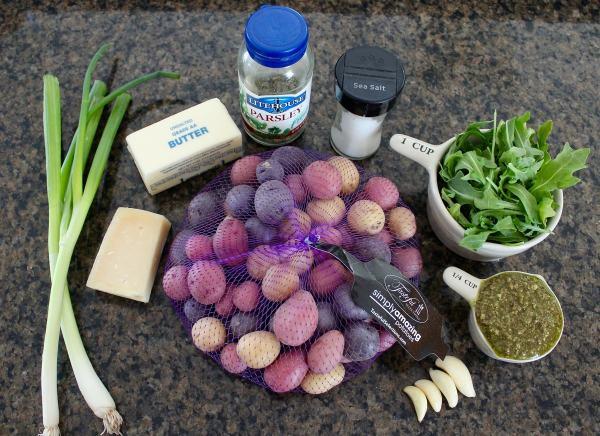 Pesto Smashed Potato Salad Recipe Ingredients