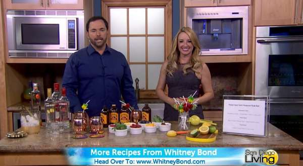 Make Your Own Moscow Mule TV Segment on San Diego 6 News