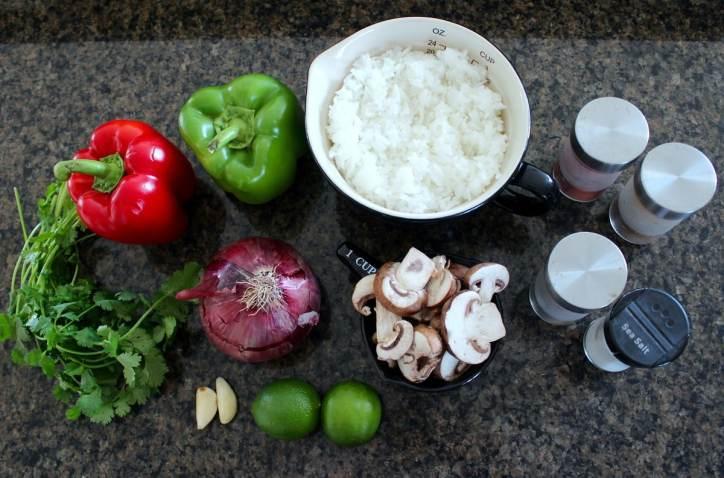 Veggie Fajita Bowl Ingredients
