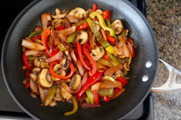 Veggie Fajita Bowl Recipe