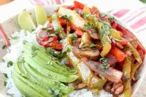 Vegan Fajita Bowl Recipe