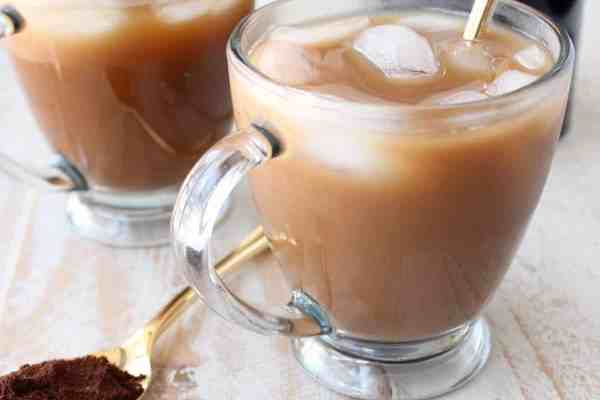 Mocha Coconut Iced Latte Recipe