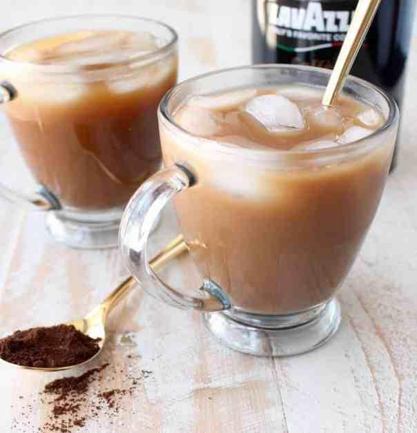 Mocha Coconut Iced Latte