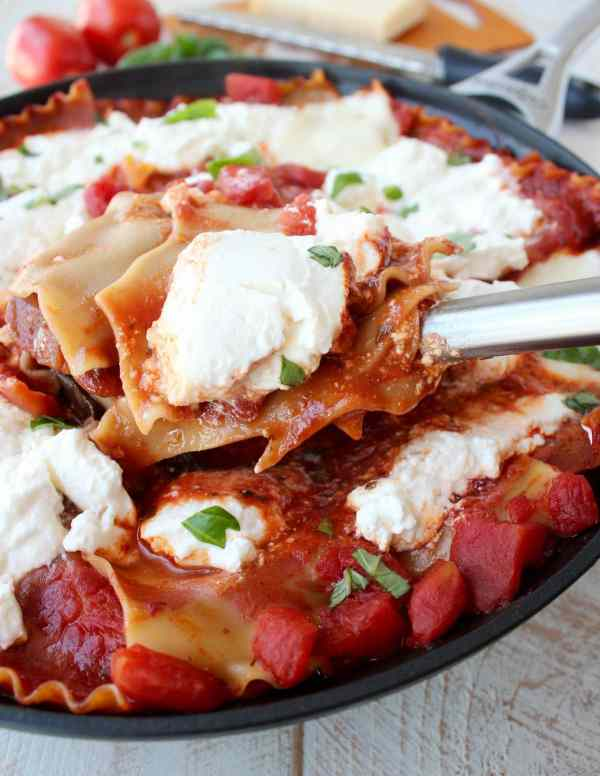 30 Minute One Pot Lasagna Recipe
