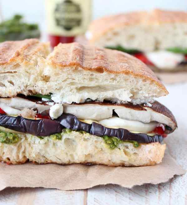 Grilled Vegetable Italian Panini Recipe