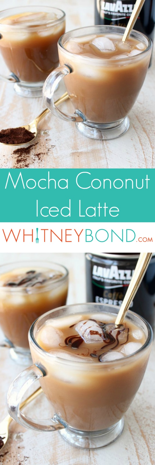 Learn how to make a Mocha Coconut Iced Latte at home in under 10 minutes! This refreshing, flavorful coffee drink can be served over ice or blended.