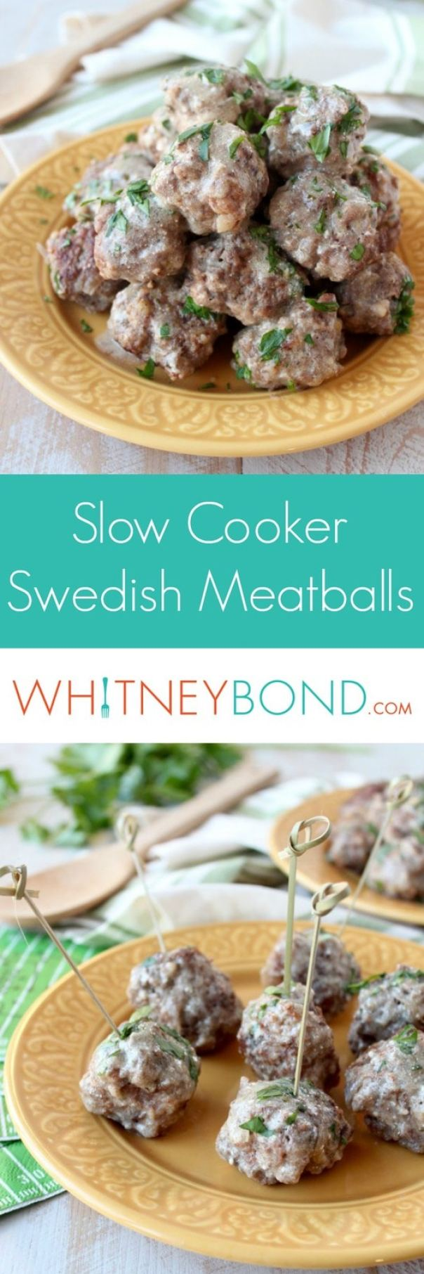 Slow Cooker Swedish Meatballs Recipe