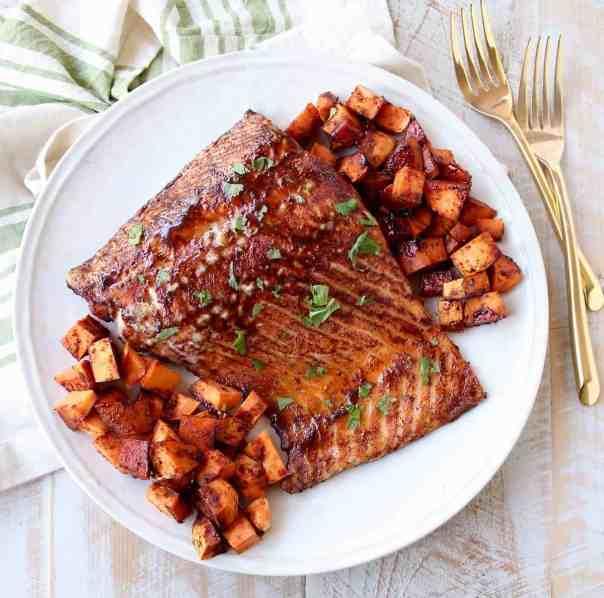 Cinnamon Chipotle Salmon