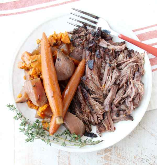 Slow Cooker Pot Roast With Garlic Herbs Whitneybond Com