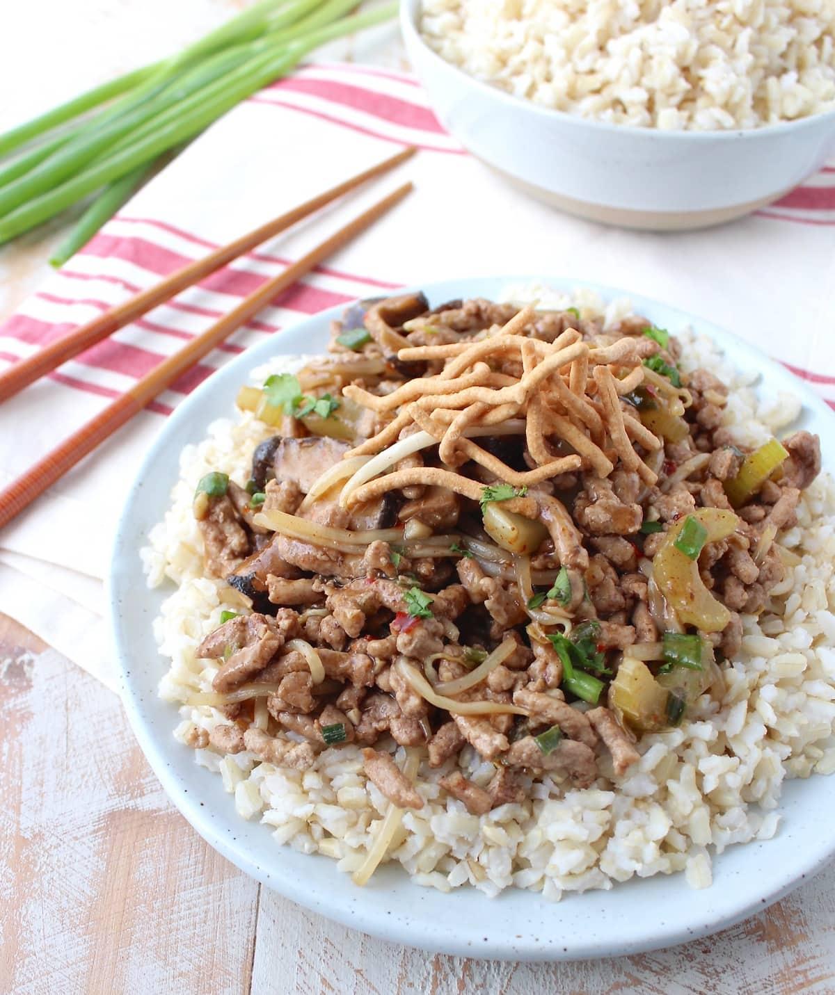 Recipes for pork chop suey