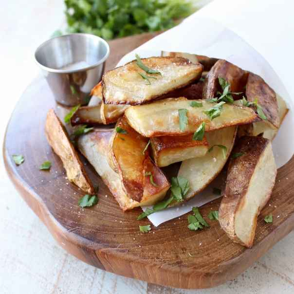 Salt & Vinegar Potato Wedges