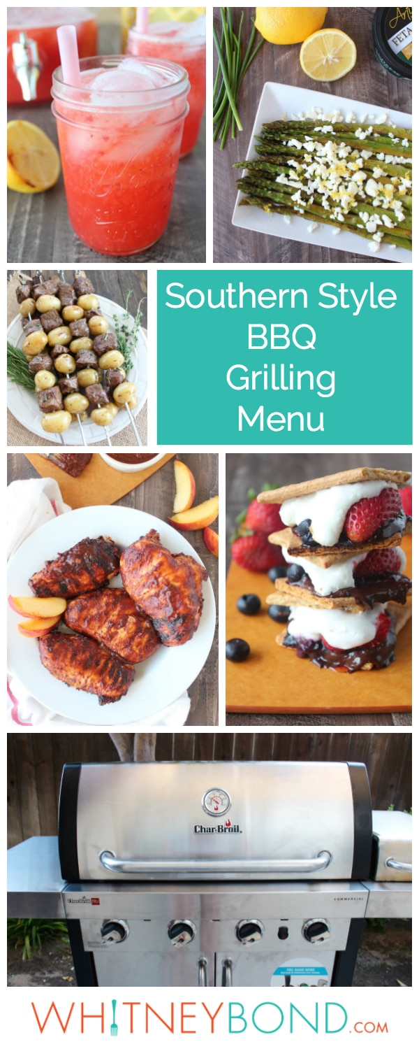 Whether it's a Mexican Fiesta, Southern Style BBQ or Vegetarian Cookout, these Grilling Menu Ideas will help you throw a delicious summer party!