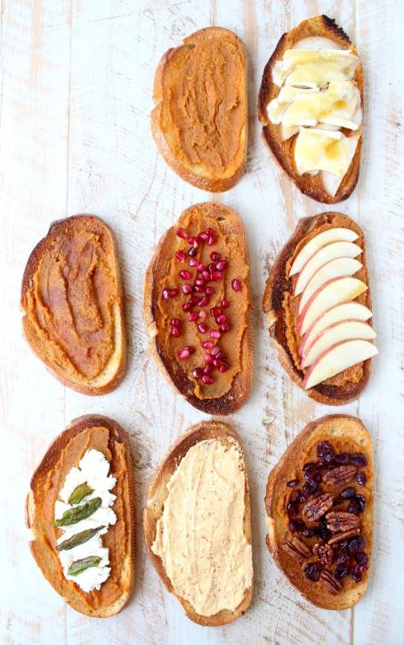 Pumpkin Toast is the fall version of Avocado Toast, it's easy to make with a variety of toppings, from sweet to savory, perfect for breakfast or a snack!