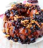 Maple Cranberry Walnut Monkey Bread
