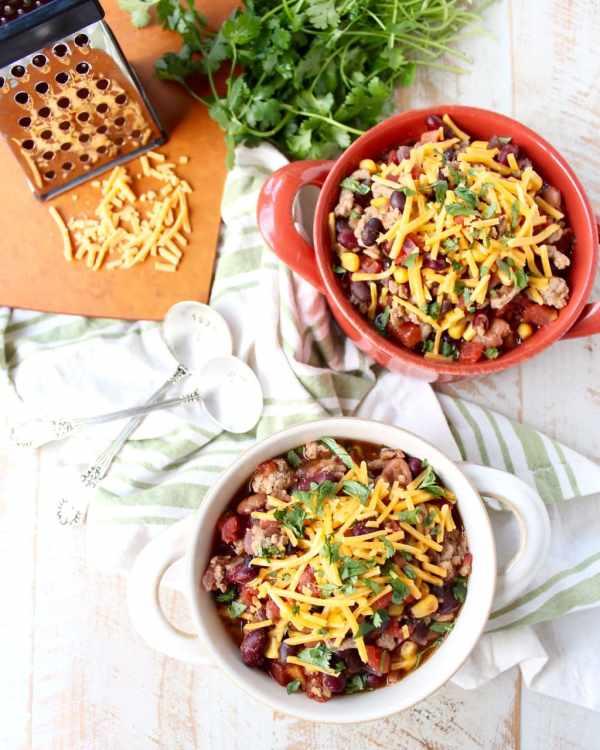 recipe: healthy taco soup with ground turkey [15]