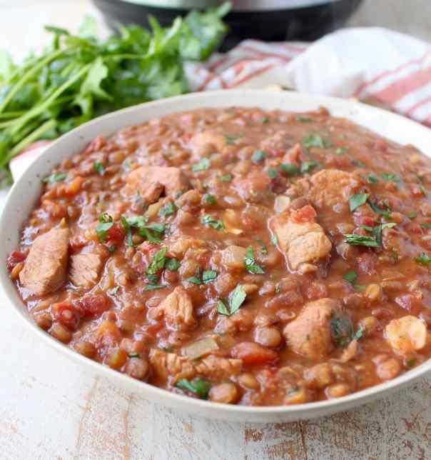 Instant Pot Chicken Tikka Masala with Lentils