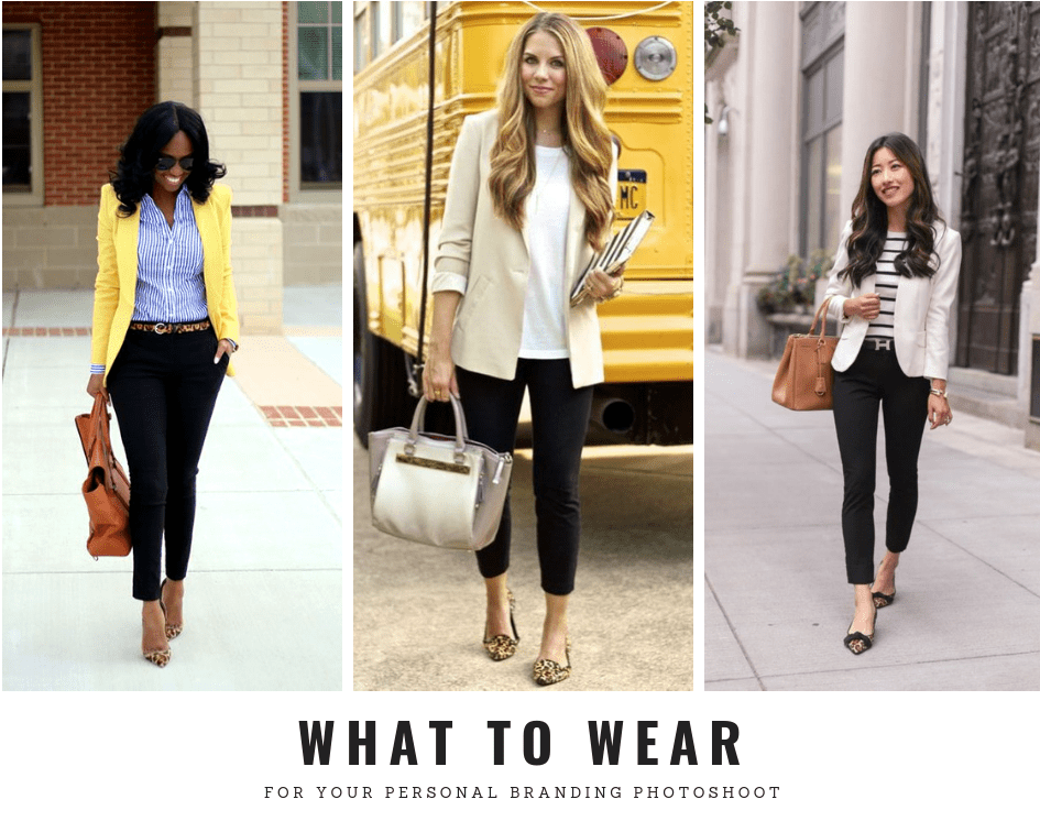 what to wear for your personal branding photoshoot what to wear for your portrait session