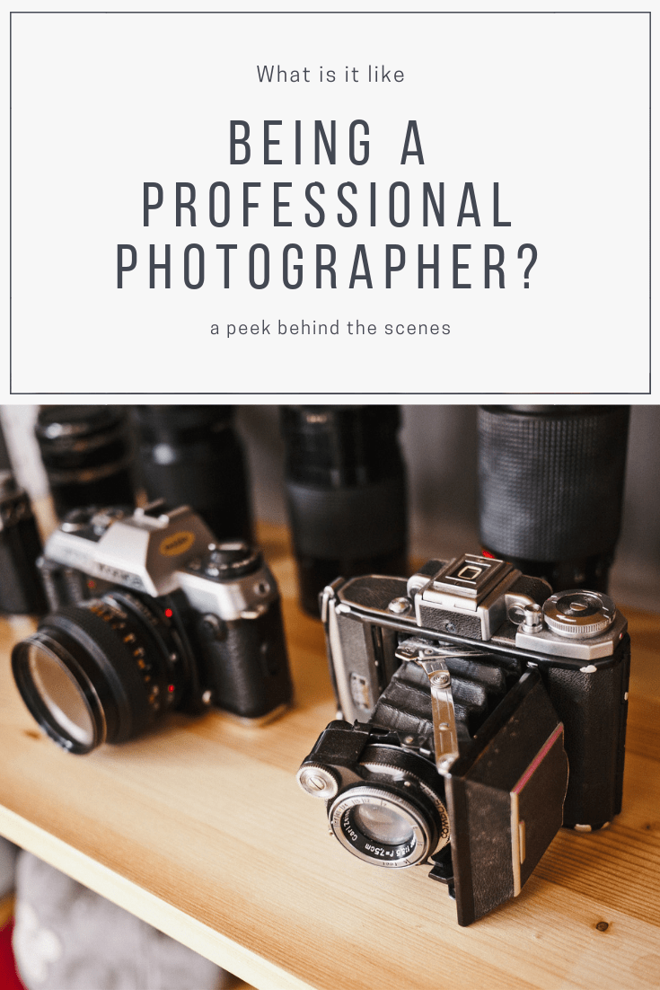what is like being a professional photographer behind the scenes Whitney Finuf