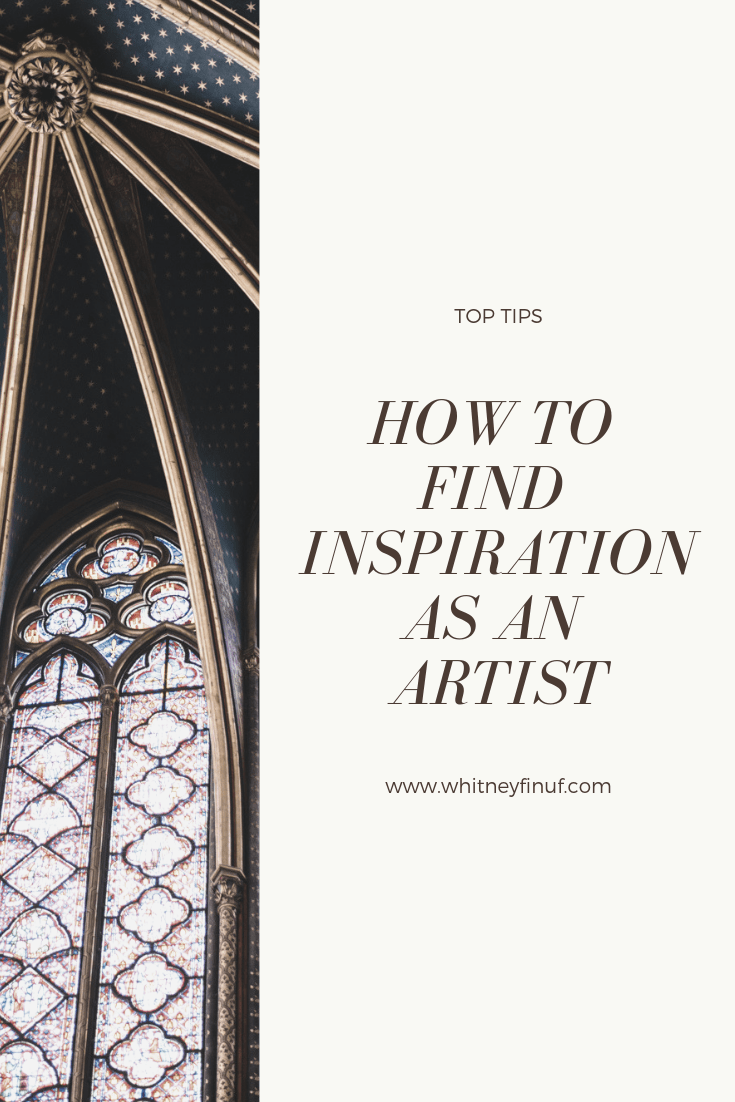 How to Find inspiration as an artist avoid copying create personal unique work